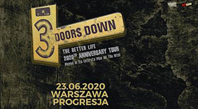Bilety na 3 Doors Down
