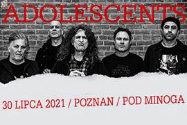 Bilety na koncert Adolescent w klubie Pod Minogą!