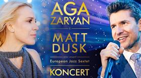 "Bilety na Aga Zaryan i Matt Dusk ""Christmas Songs"" w Poznaniu!"