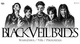 Bilety na Black Veil Brides w Progresji!