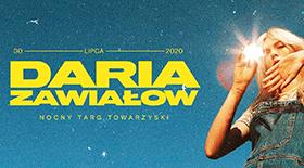Bilety na Daria Zawiałow na Nocnym Targu Towarzyskim w Poznaniu!