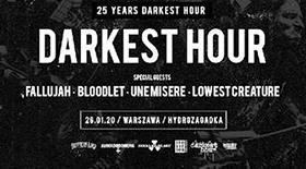 Bilety na 25lecie Darkest Hour w Hydrozagadce