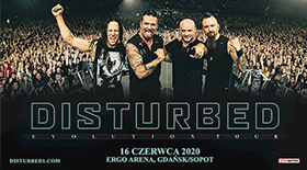 Bilety na Disturbed - Evolution World Tour