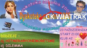 Bilety na Dyskoteka szkolna we Wrocławiu