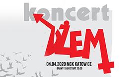 Bilety na koncert DŻEM w Katowicach!
