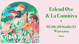 Bilety na koncert Erlend Oye & La Comitiva