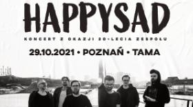 Bilety na  XX-lecie zespołu Happysad!