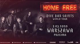 Bilety na koncert Home Free w Warszawie!
