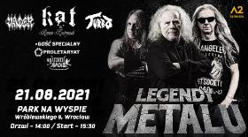 Bilety na Legendy Metalu we Wrocławiu!