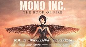 Bilety na MONO INC. w Warszawie