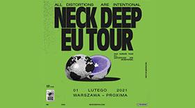 Bilety na Neck Deep w warszawskiej Proximie!