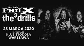 Bilety na koncert Phil X and The Drills w Stodole