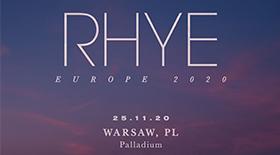 Bilety na koncert RHYE