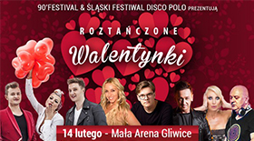 Bilety na Roztańczone Walentynki
