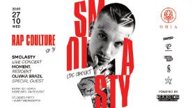 Bilety na koncert SMOLASTY wraz z OLIWKĄ BRAZIL w OHIA