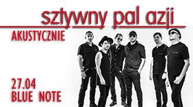 Bilety na Sztywny Pal Azji w Blue Note!