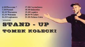 Bilety na stand-up Tomka Kołeckiego