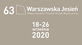Bilety na Warszawską Jesień 2020!