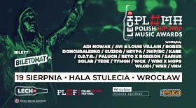 Bilety na 📄Lech Polish Hip-Hop Music Awards Wrocław 2021!