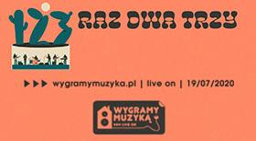 Bilety na koncert Raz Dwa Trzy w ramach Wygramy Muzyką