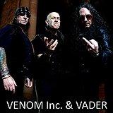 Bilety na koncerty Venom Inc. & Vader