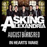 Bilety na koncerty Asking Alexandria, August Burns Red i In Hearts Wake