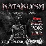 Bilety na koncerty Kataklysm, Septic Flesh i Aborted