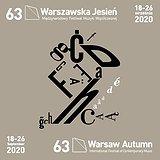 """63. Międzynarodowy Festiwal Muzyki Współczesnej """"Warszawska Jesień 2020"""""""