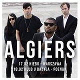 Bilety na koncerty: Algiers!