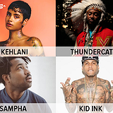 Bilety na koncerty Kehlani, Kid Ink, Thundercat, Sampha