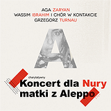 Bilety na Koncert Charytatywny dla Nury Nataah z Aleppo