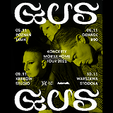 Bilety na koncerty - GusGus!