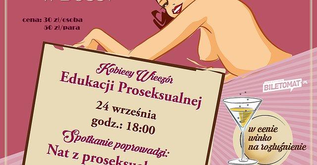 Warsztaty - Kobiecy Wieczór Edukacji Proseksualnej
