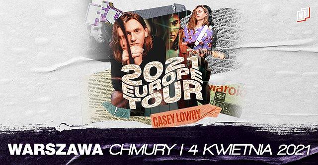 Casey Lowry w Warszawie!