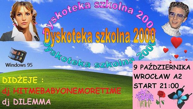 Dyskoteka Szkolna we Wrocławiu!