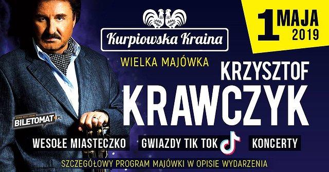 Krzysztof Krawczyk w Kurpiowskiej Krainie! Wielka Majówka!