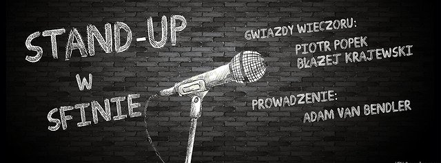 Stand-up w Sfinksie