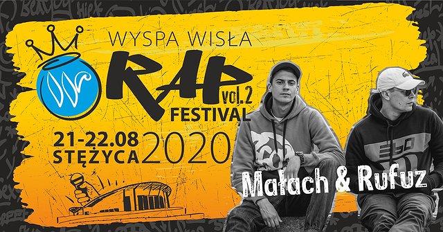 Małach & Rufuz na Wyspa Wisła Rap Festival 2020