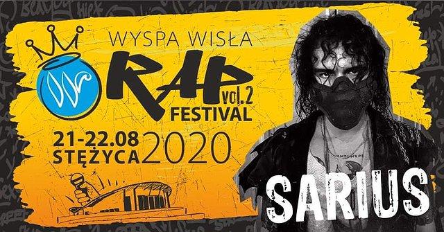 Sarius na Wyspa Wisła Rap Festival 2020