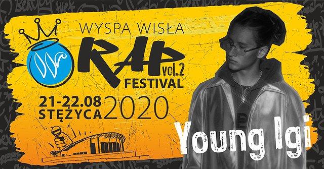 Young Igi na Wyspa Wisła Rap Festival 2020