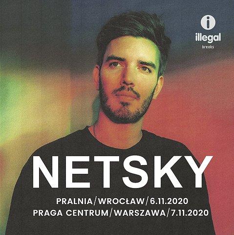 Netsky w Warszawie i we Wrocławiu!