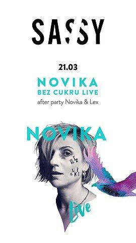 SASSY LIVE: Novika 'Bez Cukru'