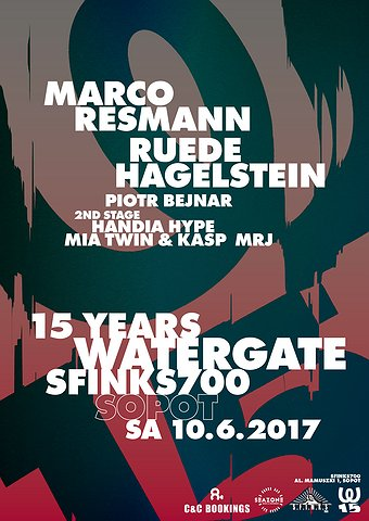 15 Years Watergate - Sopot | Sfinks700