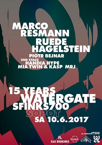 15 Years Watergate - Sopot   Sfinks700