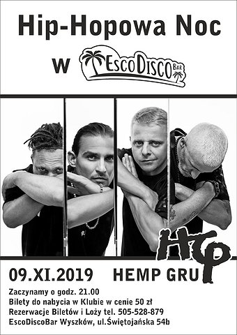 Hip Hopowa Noc w EscoDiscoBar
