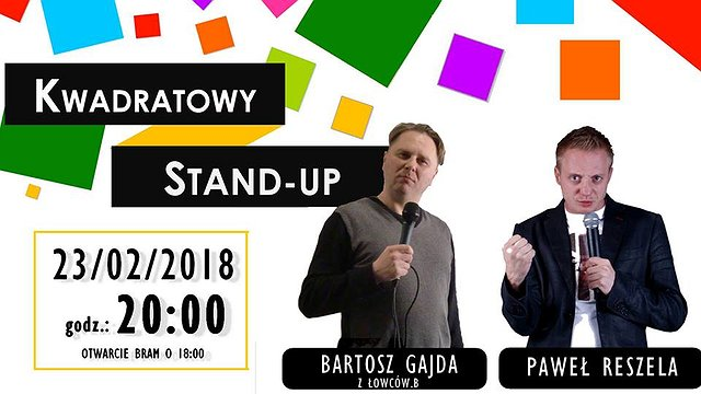 Kwadratowy Stand-up! – Bartosz Gajda, Paweł Reszela