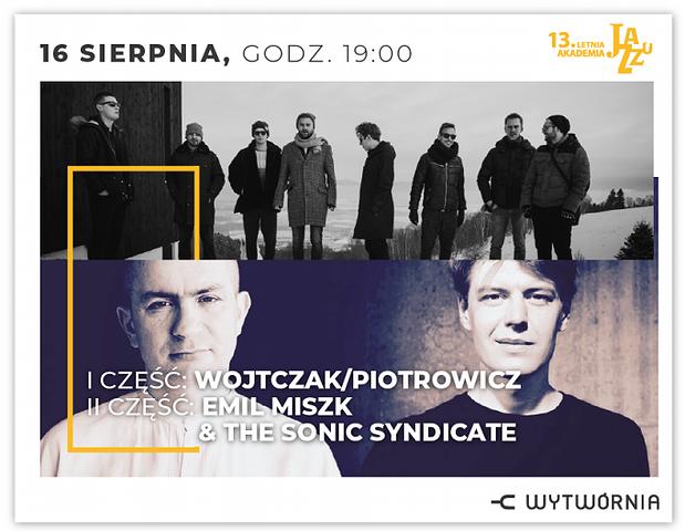 """LAJ XIII - WOJTCZAK/PIOTROWICZ """"PLASTIC POETRY"""" / EMIL MISZK & THE SONIC SYNDICATE"""