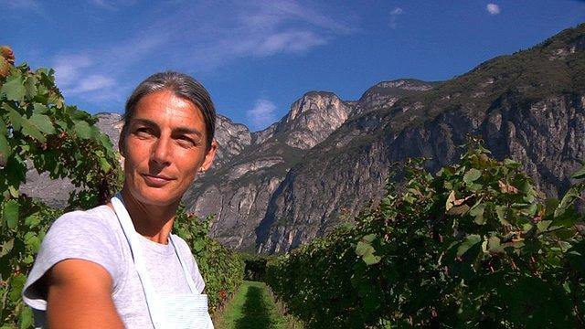 Natura kobiety i wino
