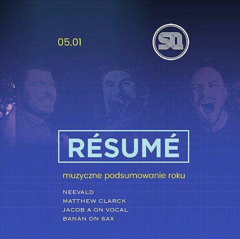 Resume! - muzyczne podsumowanie roku