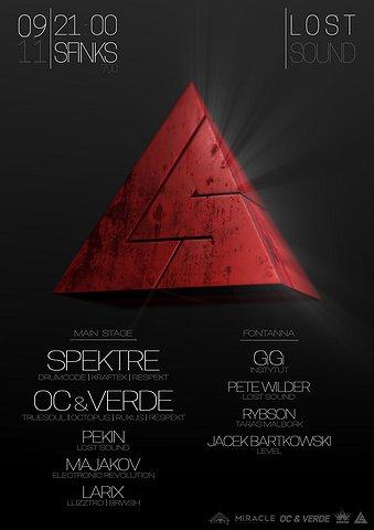 Lost Sound: Spektre + OC & VERDE